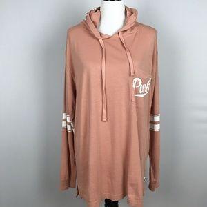 Victoria's Secret PINK Long Sleeve Hoodie T-Shirt